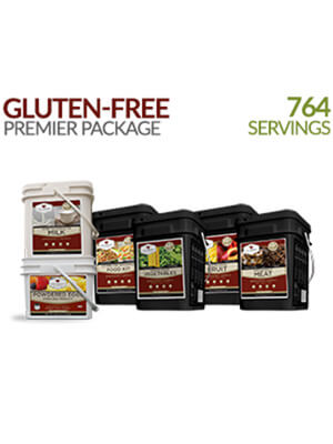Wise Company - Gluten Free Premier Kit – 1 Month Supply for 1 Person